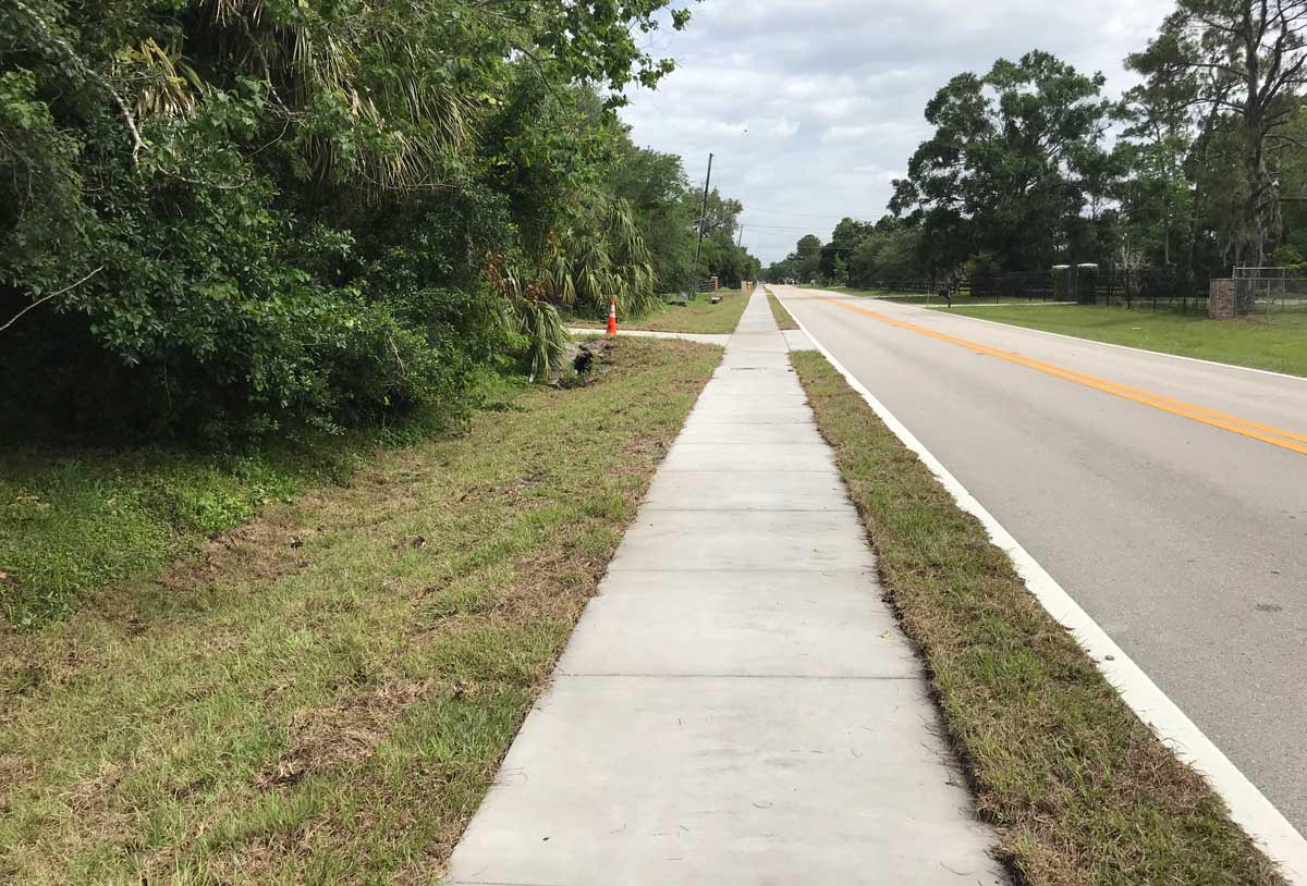 Brooks Lane Sidewalk Project- Seminole County- Florida